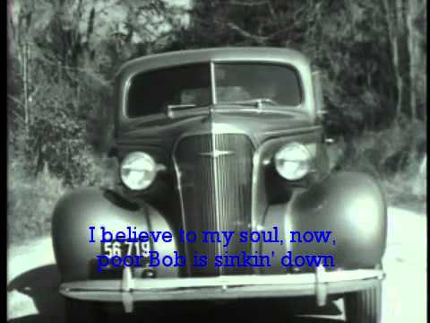 Robert Johnson - Crossroads - Cross Road Blues w Lyrics