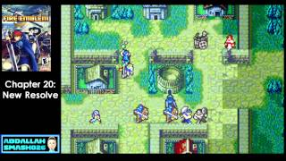 "Let's Play GBA Fire Emblem: Chapter 20 - ""New Resolve"" Walkthrough with Abdallah"