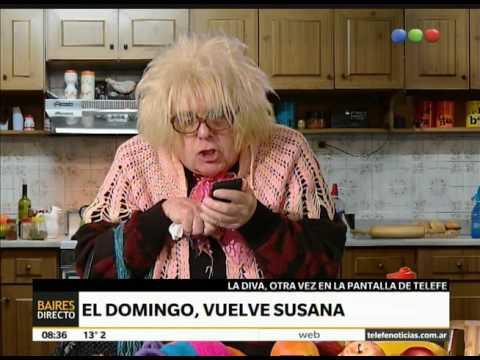 Los invitados para el regreso de Susana - Telefe Noticias