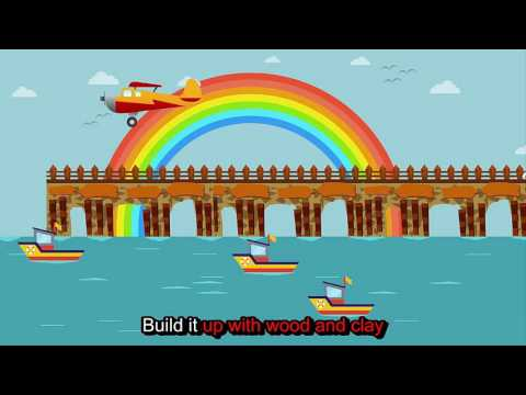 Learning English For Kid - Kid Songs - #London Bridge Is Falling Down Official with Lyrics