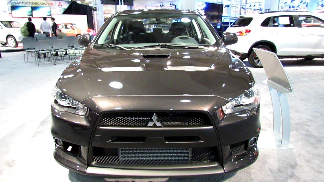 2013 mitsubishi lancer evolution gsr exterior and interior walkaround 2013 new york auto show - Mitsubishi Evo Interior 2013