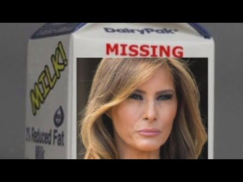 Image result for where is melania trump milk carton