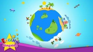 How's the Weather? - Weather Song - Nursery Rhymes - Educational Kids Songs - ESL/EFL Music
