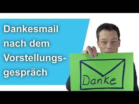 Dankesmail Nach Vorstellungsgespräch, Tipps + Beispiel/Muster Dankesschreiben // M. Wehre