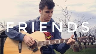 Marshmello & Anne-Marie - FRIENDS - Fingerstyle Guitar Cover *OFFICIAL FRIENDZONE ANTHEM*