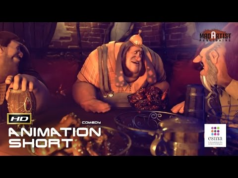 "CGI 3D Animated Short Film ""MY DEAR IS TENDER"" Viking Comedy by ESMA"