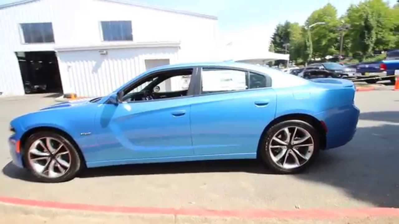 2017 Dodge Charger R T Blue Pearl Fh917414 Redmond Seattle You