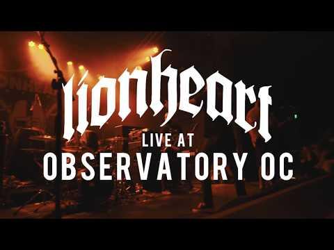 Lionheart - FULL SET {HD} 06/08/18 (Live @ Observatory OC)