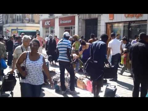 Arrondissement de Saint Denis Paris HD Video France July 2013