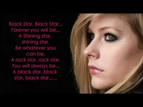 Avril Lavigne - Black Star Lyrics [HD + Lyrics]