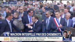 Emmanuel Macron interpellé et hué lors de son déplacement à Saint-Dié dans les Vosges