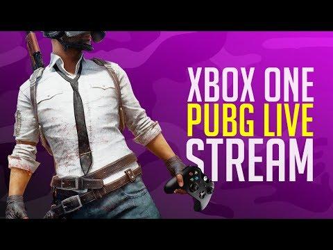 PUBG Xbox One X Squads LIVE