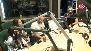 Randi, Nicole Cherry, Alina Eremia si Eduard Sanda live la Kiss FM - Razi cu Rusu si Andre ...