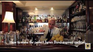 Dukes martini masterclass part two - Vesper