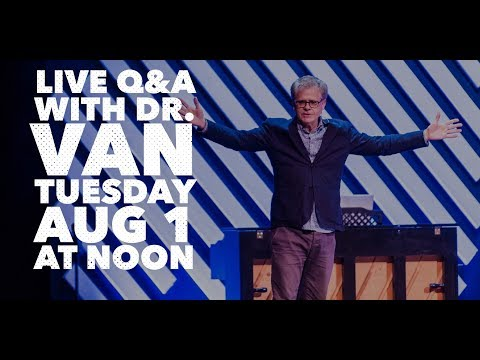 Live Q&A with Dr Van Johnson