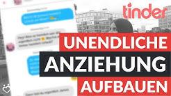 Tinder Chatverlauf - So baust Du UNENDLICHE ANZIEHUNG im Chat auf! (Chatanalyse)) | Andreas Lorenz