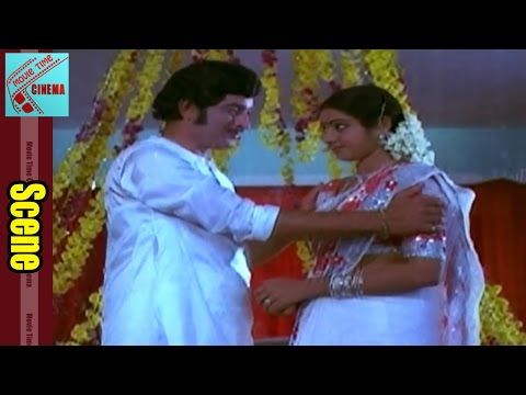 Bhoga Bhagyalu Movie Climax Scene || Gummadi, Krishna, Sridevi, Giri Babu