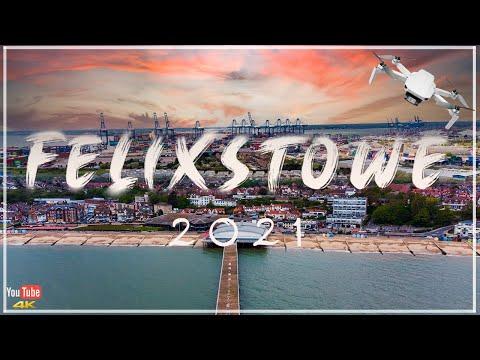 Felixstowe   B-Roll Travel Film   England 2021