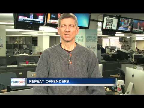 PolitiFact Wisconsin: How many violent criminals return to prison?