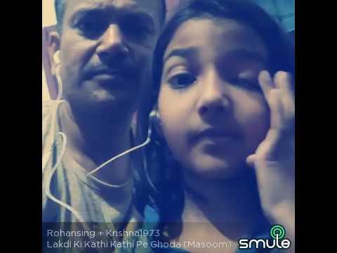 Lakdi ki kathi Covered by Annie & K K Singh - YouTube