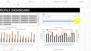 SPRINZ 2014 Workshop - Excel Tricks - Fitness Test Data Management Project Demo