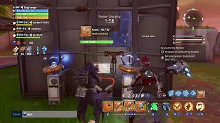 HOW TO WALK THROUGH WALLS GLITCH! Dont get scammed by this Fortnite Save The World