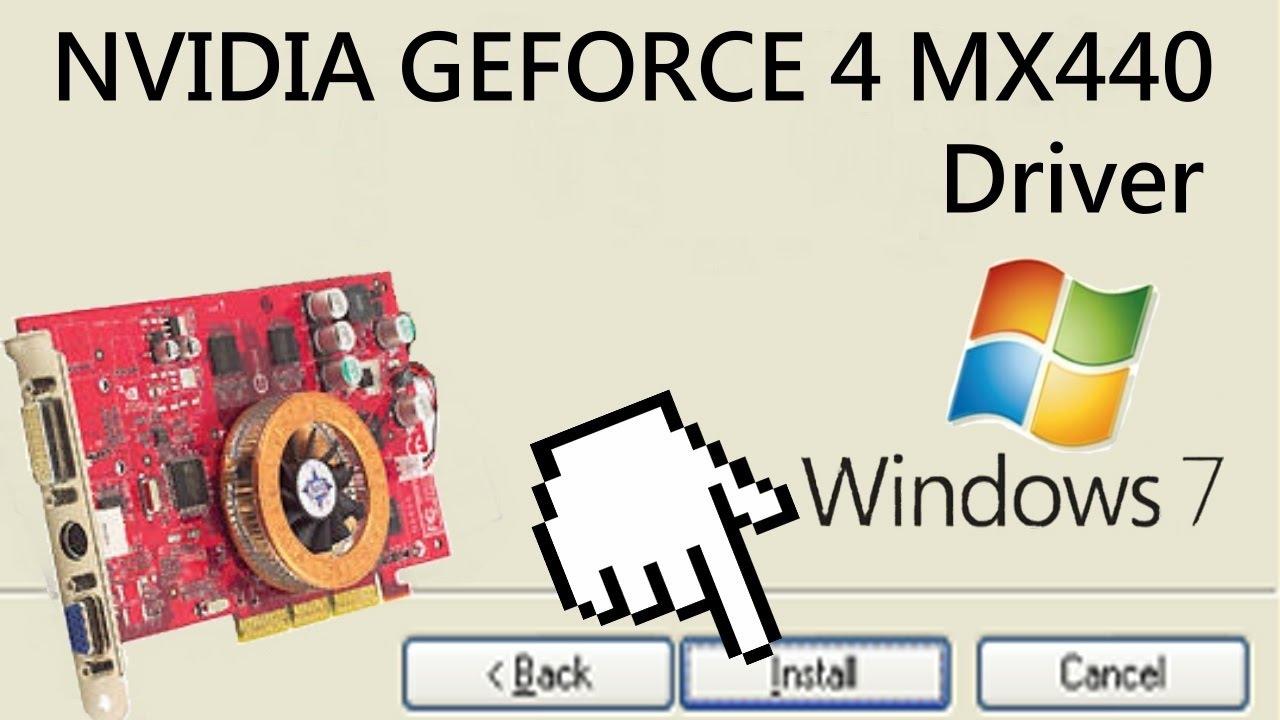 Nvidia geforce 440 скачать драйвер windows xp