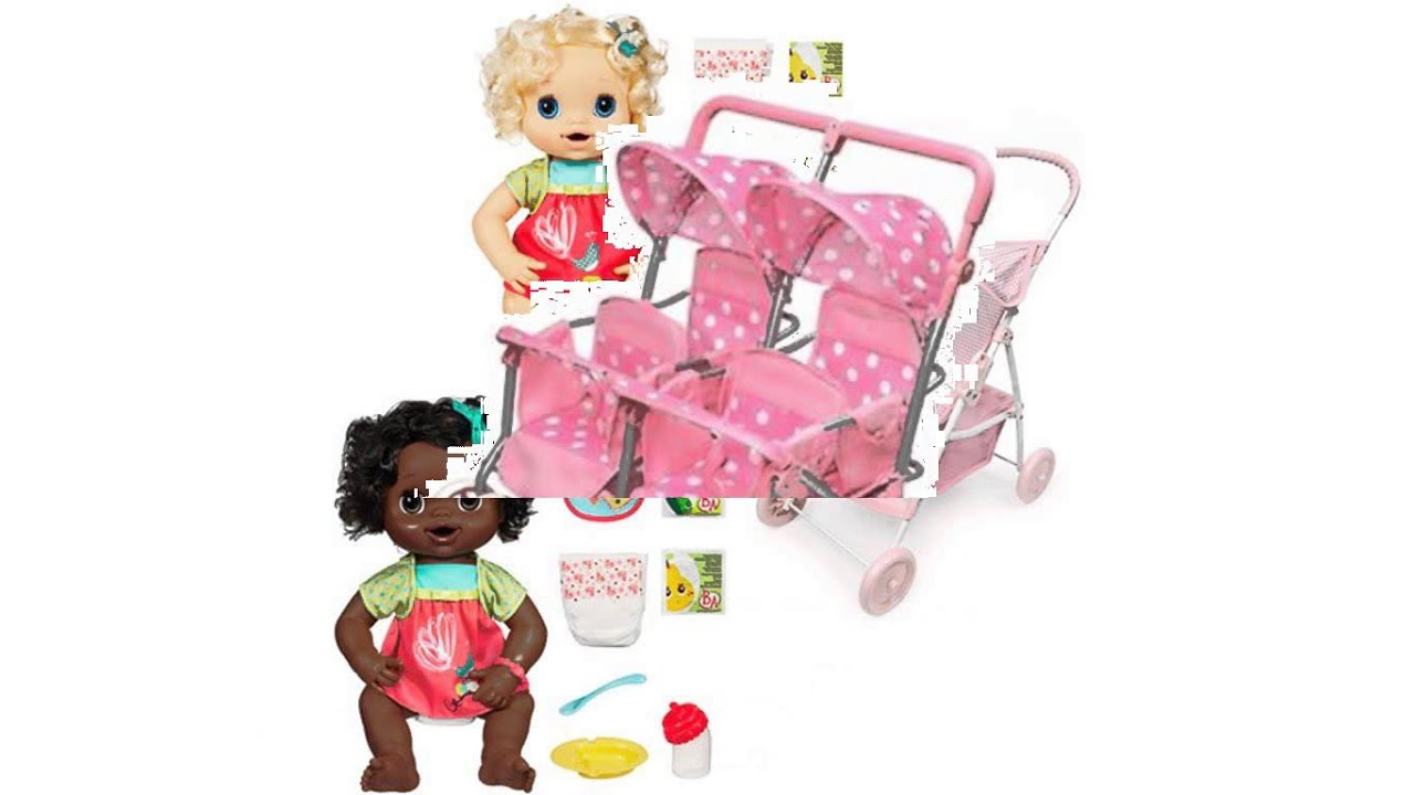baby alive stroller - YouTube