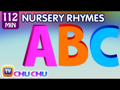 Thumbnail: ABC Song and Many More Nursery Rhymes for Children | Popular Kids Songs by ChuChu TV