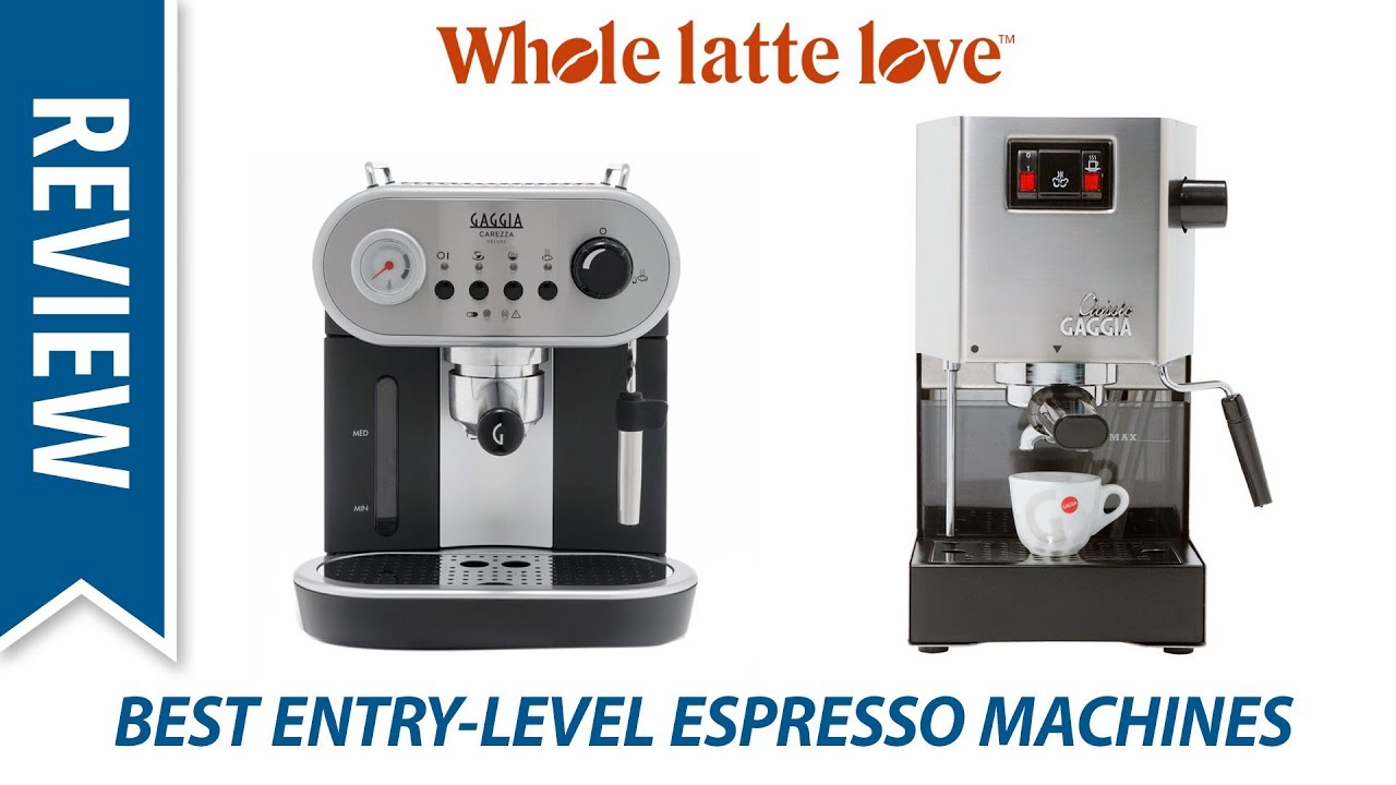 Espresso Machines For Latte Art
