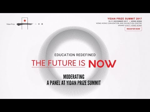 Yidan Prize Summit: Investing in Future-Ready Education (Panel on EdTech Investing)