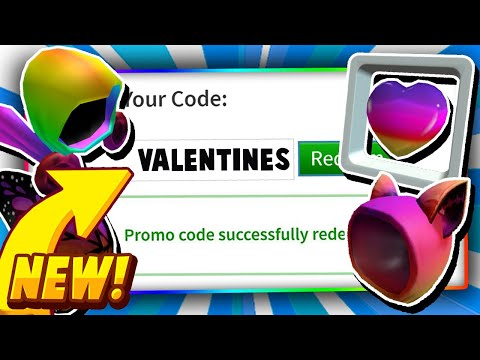 Valentines Day Roblox Promo Codes February All Roblox Promo Codes On Roblox 2020 Valentines New Roblox Promo Codes Not Expired Youtube