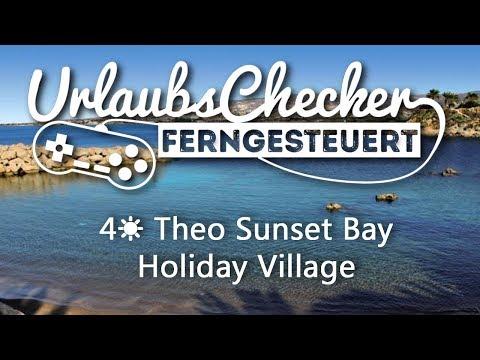 4☀ Theo Sunset Bay Holiday Village   Paphos