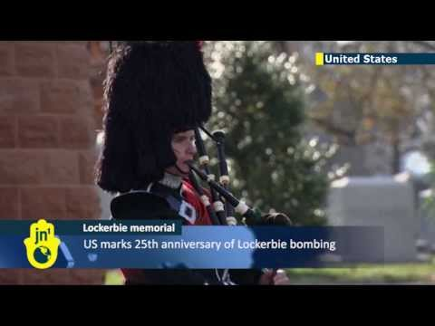 Lockerbie bombing anniversary: Ceremony marks 25 years since deadly terror attack