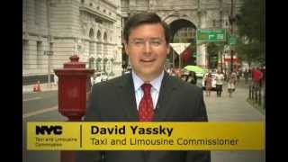 NYC Taxi & Limousine Commissioner  David Yassky introduces