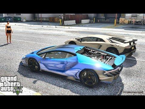 GTA 5 REAL LIFE MOD #442 CENTENARIO!!! (GTA 5 REAL LIFE MODS)