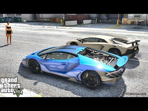 GTA 5 REAL LIFE MOD #442 CENTENARIO!!! (GTA 5 REAL LIFE MODS)