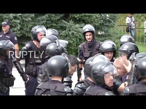 Moldova: Protest against Rogozin's visit falls flat after Romania blocks politician's flight