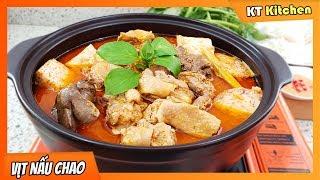 Cách Nấu Lẩu VỊT NẤU CHAO Đặc Sản Miền Tây Thơm Ngon Quyến Rũ || BEAN CURD DUCK HOTPOT | KT Food
