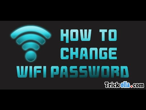 How to change your verizon router name and password