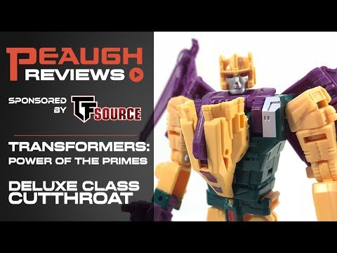 Video Review: Transformers: Power of the Primes - Deluxe Class CUTTHROAT