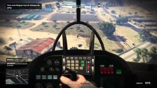 GTA 5 DLC BRAQUAGE PRIX ET TEST DU NOUVEAU SAVAGE ( HELICOPTERE D'ATTAQUE )