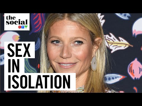 Gwyneth Paltrow hints that isolation has made her sexually frustrated | The Social