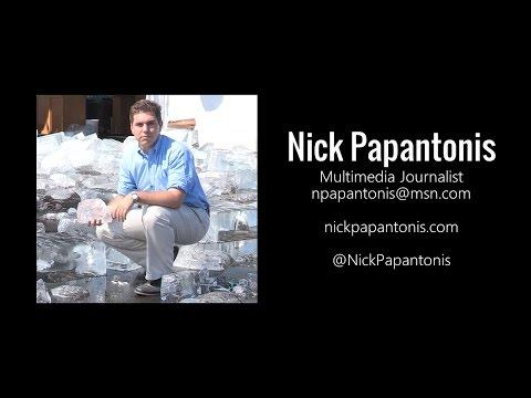 Nick Papantonis Reporter/MMJ Reel