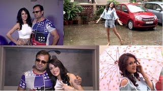 Monsoon Photoshoot With Shweta Khanduri & Talk About Song Baarish Ke Bahane