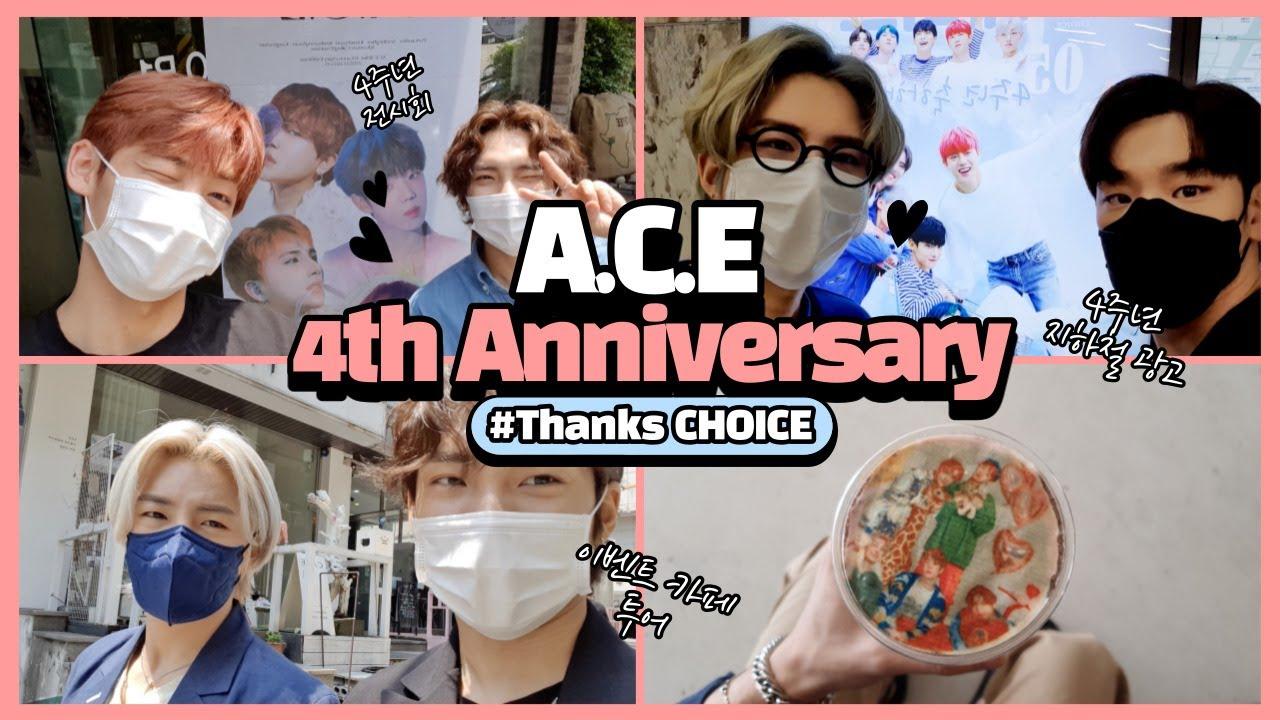 A.C.E 4th Anniversary THANKS CHOICE