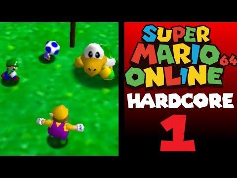 """Race Against Death"" - Super Mario 64 Online HARDCORE! (Episode 1) // feat. 11clock and Pureheart13"