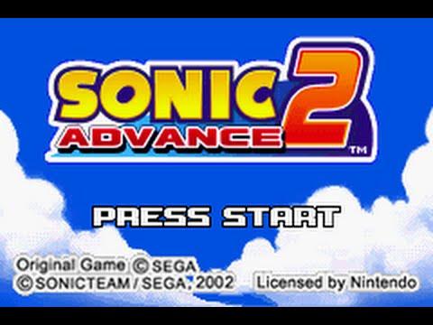 Sonic Advance 2 - walkthrough