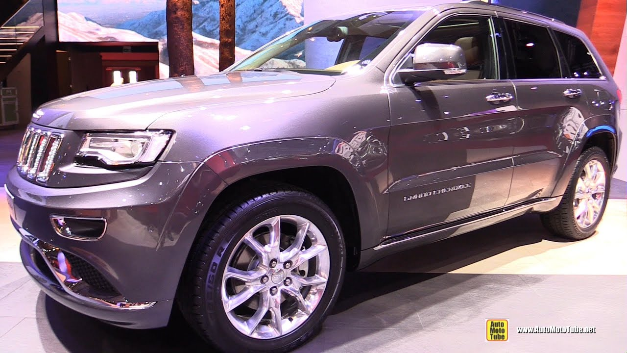 2015 Jeep Grand Cherokee Summit Diesel   Exterior And Interior Walkaround    2014 Paris Auto Show   YouTube