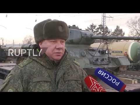 T-34 wróciły do Rosji